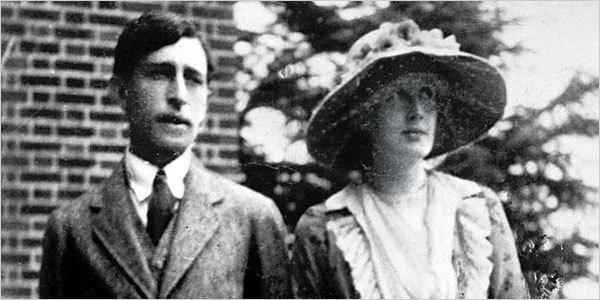 버지니아 울프와 남편 레오나르드 울프.