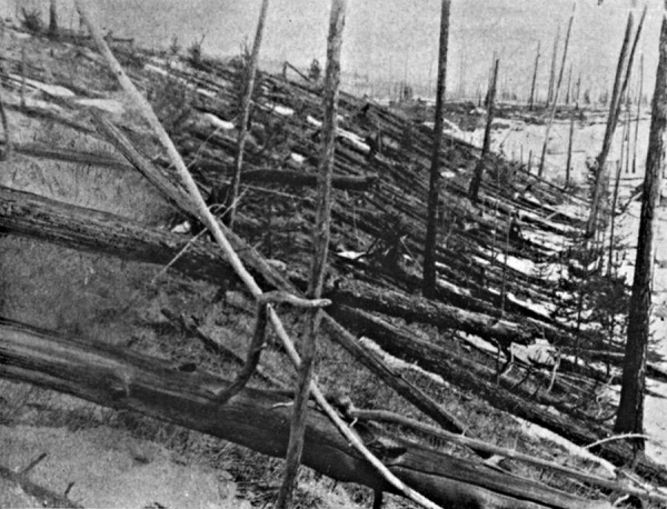 An explosion believed to have been caused by a Taurid meteor shower burned 800 miles of trees in Russia over a century ago.