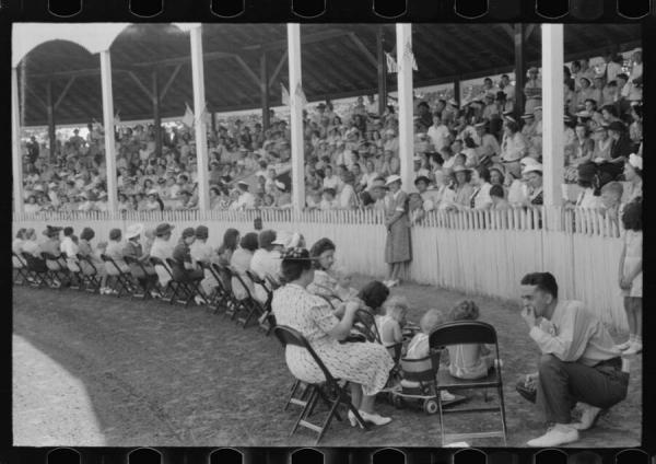 쉘비 카운티에서 개최되었던 우량아 선발대회 모습(Library of Congress)