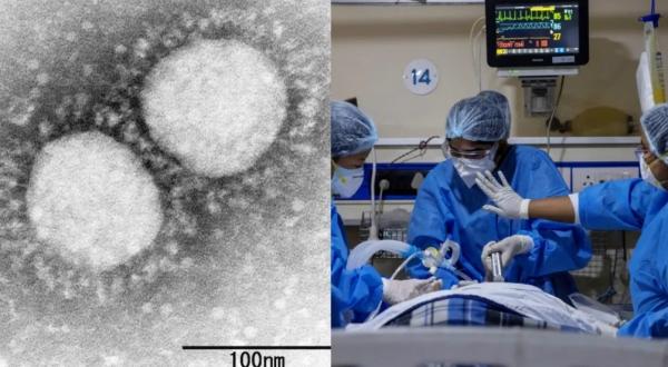 인도의 많은 병원들이 COVID-19 환자의 급증으로 인해 압도됐다. [출처=닛케이아시아]